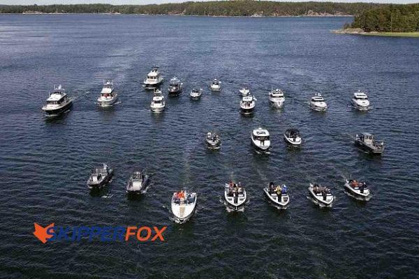 Finnische Motorboote