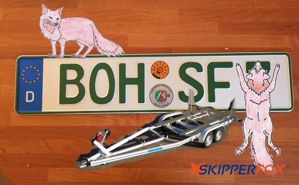 SKIPPERFOX® Neuer SportbootTrailer