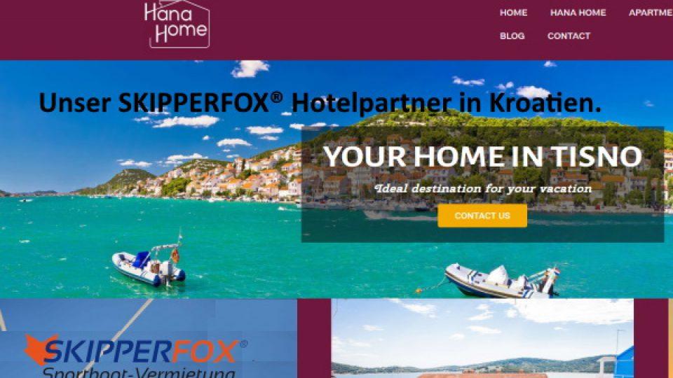 SKIPPERFOX® Partner Kroatien Tisno