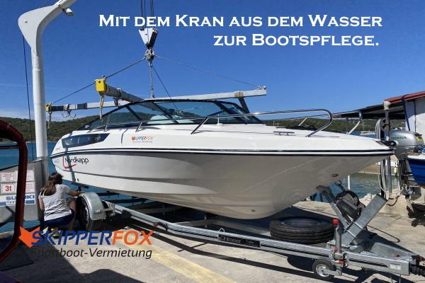 SKIPPERFOX® Sportboot Kran