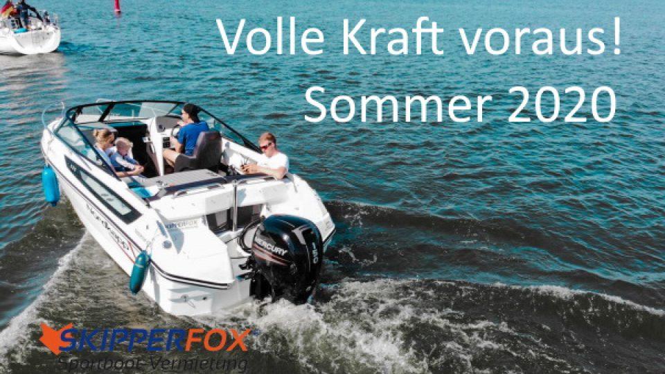 SKIPPERFOX® Volle Kraft voraus