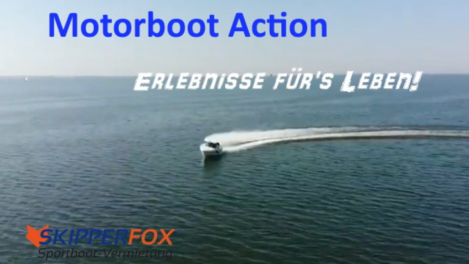 SKIPPERFOX Motorboot Action