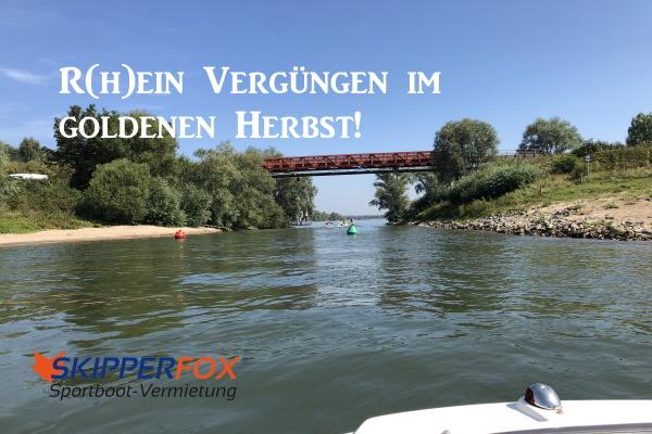 SKIPPERFOX Rhein Vergnügen im Herbst
