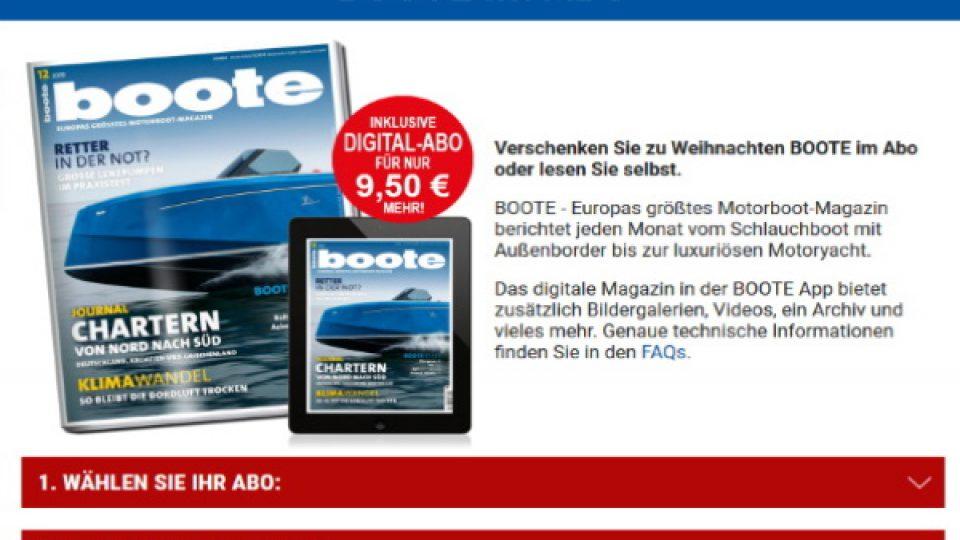 SKIPPERFOX Sportboot Boote Magazin Abo
