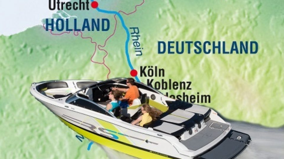 Skipperfox® Rheinfahrt