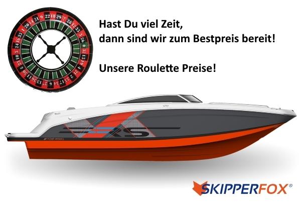 Skipperfox® Roulettepreise