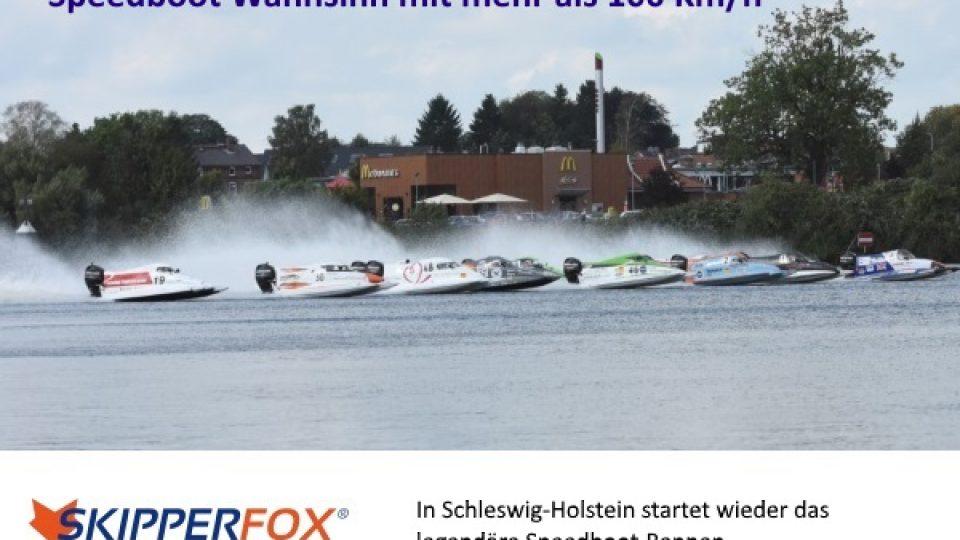 Speedboot Rennen